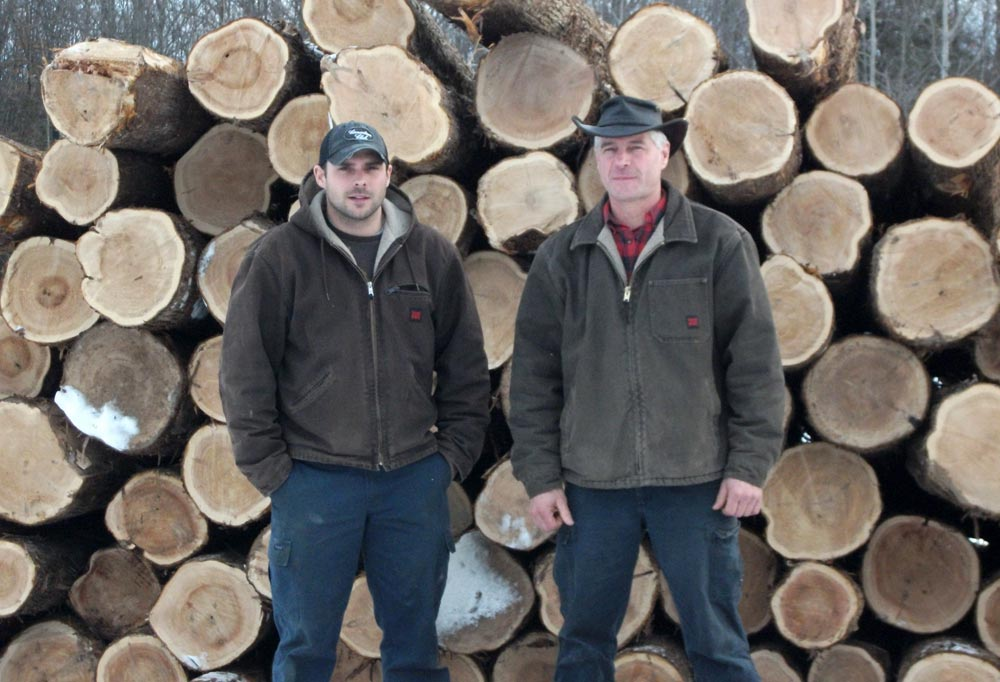 mike rob empey logs lumber services