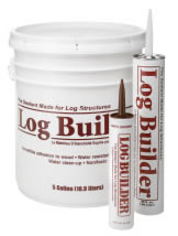 log home caulking water based